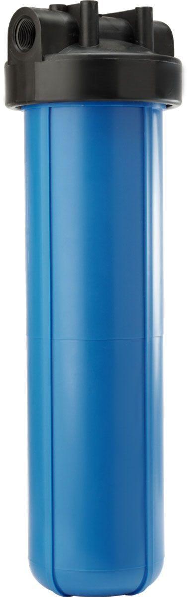 Колба для холодной воды Unicorn FHBB 20 Big Blue, 50 х 17,5 см, 6 бар, 1BL505ПрименениеКорпусы фильтров FHBB используются в основном для систем водоподготовки коттеджей и промышленных предприятий.КонструкцияКорпус фильтра FHBB - 2-составной (крышка и колба), конструктивно данный фильтр отличается размерами, что позволяет использовать его для систем с большими расходами воды. Крышка фильтра имеет клапан для спуска воздуха, а также направляющие для правильной установки картриджа.