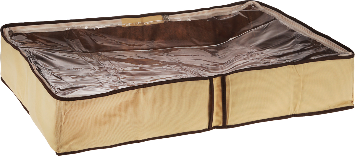 Чехол для одеял Все на местах Париж, цвет: коричневый, бежевый, 80 х 45 х 15 см04743-099-01Чехол для одеял Все на местах Париж выполнен из сочетания ПВХ и спанбонда. Модель имеет две удобные вертикальные ручки. В стенки чехла вставлен уплотнитель, что позволяет ему держать форму. Подходит для хранения одеял, пледов, подушек и т.д.Материал: спанбонд, ПВХ.Размер: 80 х 45 х 15 см.