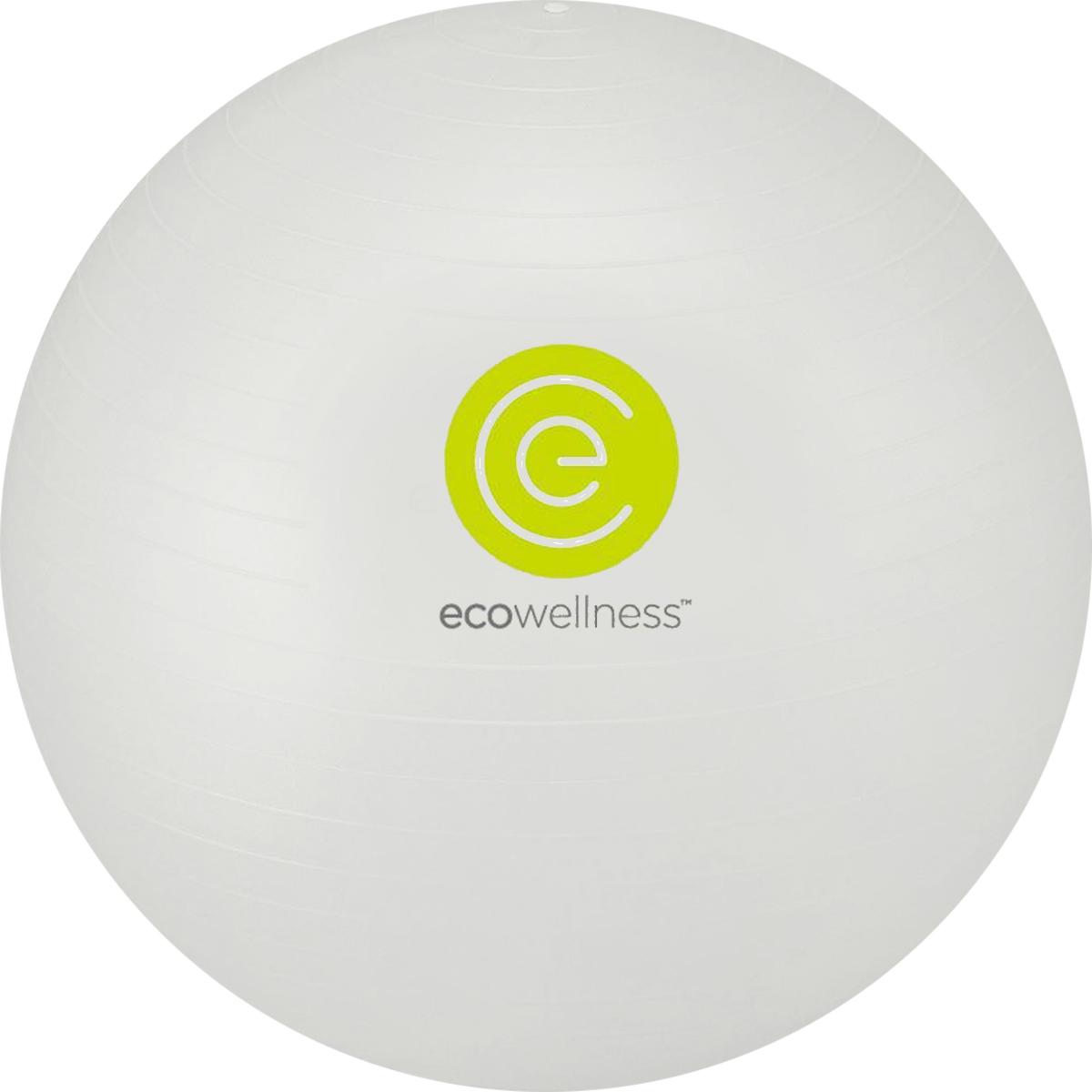 Мяч гимнастический Ecowellness, c ручным насосом, цвет: серый, диаметр 65 смWRA523700Мяч Ecowellness предназначен для гимнастических и медицинских целей в лечебных упражнениях. Он выполнен из прочного гипоаллергенного ПВХ. Прекрасно подходит для использования в домашних условиях. Данный мяч можно использовать для: реабилитации после травм и операций, восстановления после перенесенного инсульта, стимуляции и релаксации мышечных тканей, улучшения кровообращения, лечении и профилактики сколиоза, при заболеваниях или повреждениях опорно-двигательного аппарата.