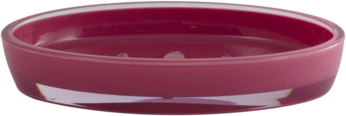 Мыльница Swensa Рондо, цвет: слива68/5/3Мыльница Swensa Рондо поможет внести свежую нотку в продуманный интерьер ванной комнаты. Ребристое дно препятствует выскальзыванию и размоканию бруска мыла, а благодаря компактным размерам и овальной форме аксессуар легко размещается на стеклянной полке, бортике ванны или уголке раковины. Влагостойкое покрытие обеспечивает надежную защиту от повышенной влажности и воздействия высоких температур, продлевая срок службы изделия.