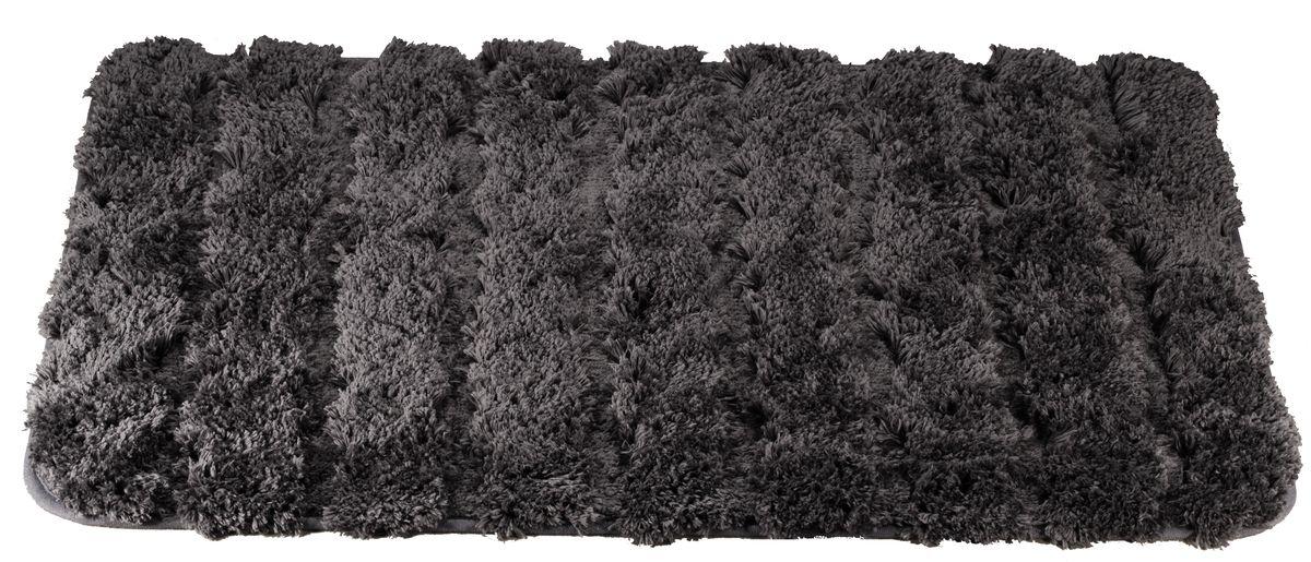 Коврик для ванной Swensa Molle, цвет: серый, 60 х 90 см531-105Коврик для ванной Swensa Molle предназначен для ванной комнаты. Мягкий и нежный ворс из микрофибры дарит приятные ощущения при прикосновении к коже. Материал нетребователен в уходе – его можно стирать с обычными моющими средствами. Ворс быстро высыхает при комнатной температуре, поэтому плесневые грибки и вредные микроорганизмы не развиваются на поверхности коврика. Микрофибра обладает антистатическими свойствами, не вызывает аллергии и не выделяет токсичные вещества.
