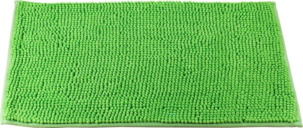 Коврик для ванной Swensa, цвет: зеленый, 45 х 70 смSWM-3003GR-BКоврик для ванной Swensa выполнен из полиэстера – современного и очень нежного на ощупь материала, обладающего рядом полезных свойств. Он не мнется, не теряет форму и легко чистится без специальной подготовки. Полиэстер не пропускает воду и быстро высыхает. При должном уходе он будет дарить уют и комфорт многие годы, не теряя отличного внешнего вида.