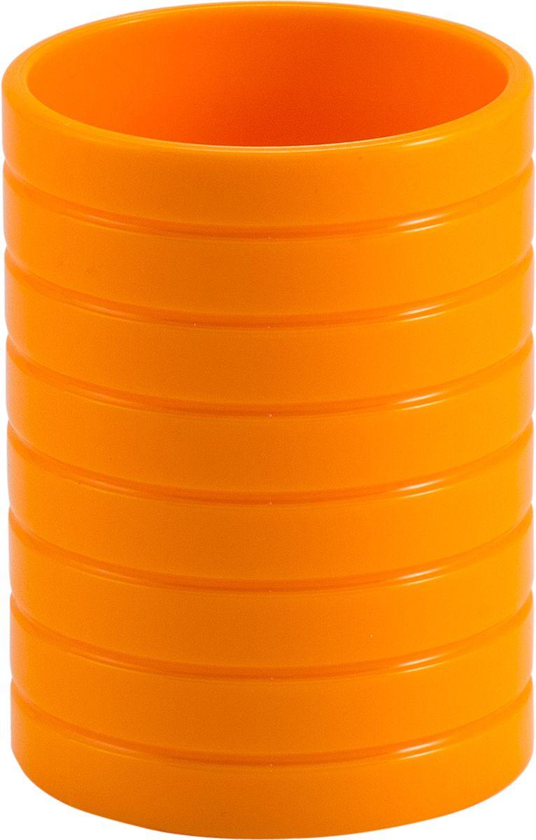 Стакан для ванной Swensa Тренто, цвет: оранжевый68/5/1Стакан для ванной Swensa Тренто – элегантное и изысканное решение для ванной комнаты. Он целиком выполнен из пластика, что гарантирует прочность изделия и простоту ухода. Материал неприхотлив и не боится воздействия химических веществ. Изделие не выделяется на фоне других принадлежностей, оставаясь при этом уникальным и необычным.