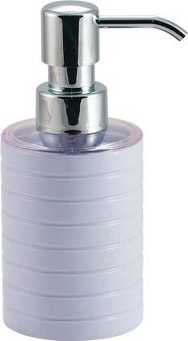 Дозатор для жидкого мыла Swensa Тренто, цвет: белый, 250 млBH-UN0502( R)Дозатор для жидкого мыла Swensa Тренто станет незаменимым помощником для проведения ежедневных гигиенических процедур. Представленная модель изготовлена из пластика, прочного материала, который обезопасит изделие от любых нежелательных воздействий и повреждений. Стильный универсальный дизайн изделия позволит ему стать заметным и интересным акцентом в любом интерьере.