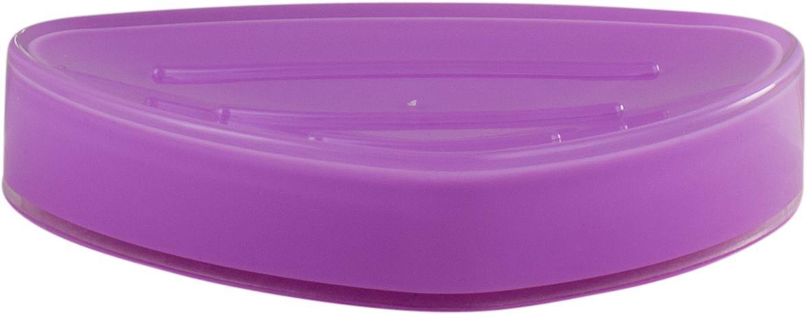 Мыльница Swensa Нео, цвет: лиловыйCLP446Мыльница Swensa Нео – это качественный аксессуар из пластика для ванной комнаты, изготовленный в соответствии с европейскими стандартами качества. Изделие имеет приятную расцветку, и прекрасно смотрится в интерьере. Мыльница отличается удобством и практичностью в эксплуатации, ей не страшны царапины или выцветание.