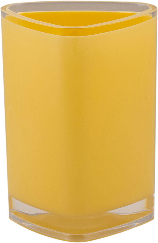 Стакан для ванной Swensa Нео, цвет: ванильный68/5/3Стакан для ванной Swensa Нео — практичный аксессуар для удобного хранения гигиенических принадлежностей. Изделие обращает на себя внимание выразительной формой, выдержанной в современном дизайне. Этот яркий аксессуар, дополненный иными изделиями из одноименной коллекции, станет модным акцентом в сдержанном интерьере ванной комнаты.