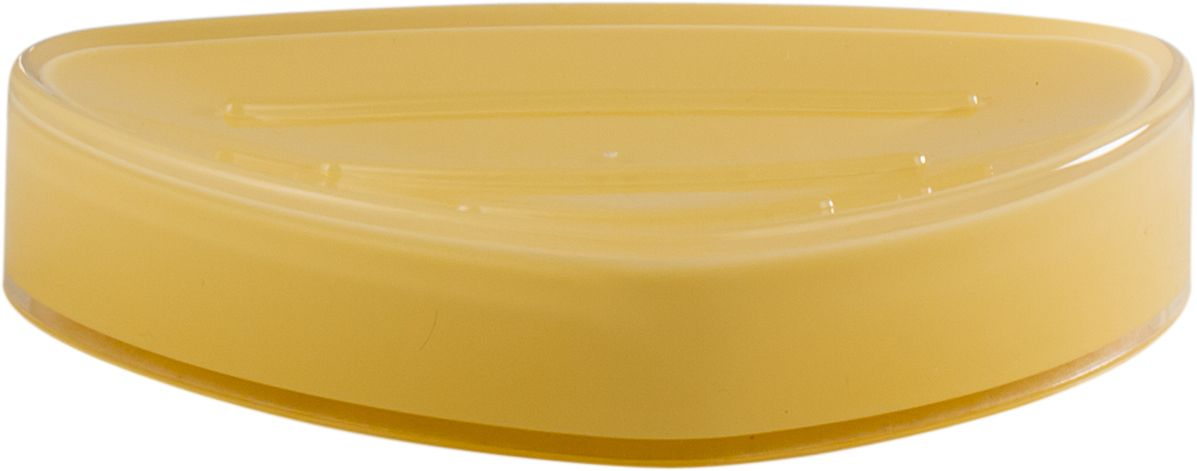 Мыльница Swensa Нео, цвет: ванильный13296Мыльница Swensa Нео – это качественный аксессуар из пластика для ванной комнаты, изготовленный в соответствии с европейскими стандартами качества. Изделие имеет приятную расцветку, и прекрасно смотрится в интерьере. Мыльница отличается удобством и практичностью в эксплуатации, ей не страшны царапины или выцветание.