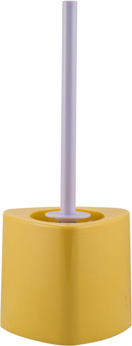 Ершик для унитаза Swensa Нео, с подставкой, цвет: ванильный531-105Напольный ерш Swensa Нео – гигиенический аксессуар высочайшего качества. Модель предназначена для поддержания санитарии и чистоты в туалетной комнате. Рукоятка ершика выполнена из прочного металла с хромированной поверхностью. Стаканчик изготовлен из прочного и практичного пластика, который легко поддается мытью.