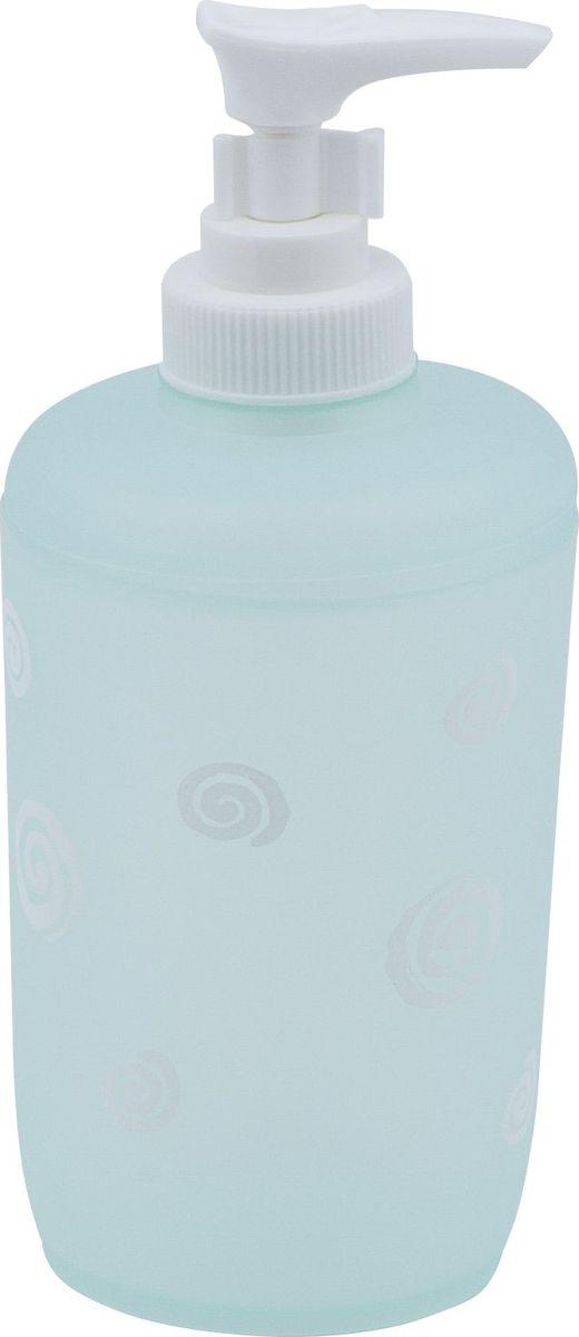 Дозатор для жидкого мыла Swensa Спираль, цвет: бирюзовый, 250 млRG-D31SДозатор для жидкого мыла Спираль, изготовленный из пластика, отлично подойдет для вашей ванной комнаты.