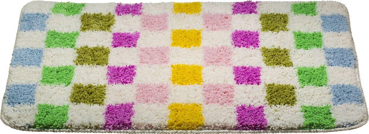 Коврик для ванной Swensa Confetti, цвет: белый, 50 х 80 см5030/CHAR003Коврик для ванной Swensa Confetti выполнен из микрофайбера – современного и очень нежного на ощупь материала, обладающего рядом полезных свойств. Он не мнется, не теряет форму и легко чистится без специальной подготовки. Микрофайбер не пропускает воду и быстро высыхает. При должном уходе он будет дарить уют и комфорт многие годы, не теряя отличного внешнего вида.