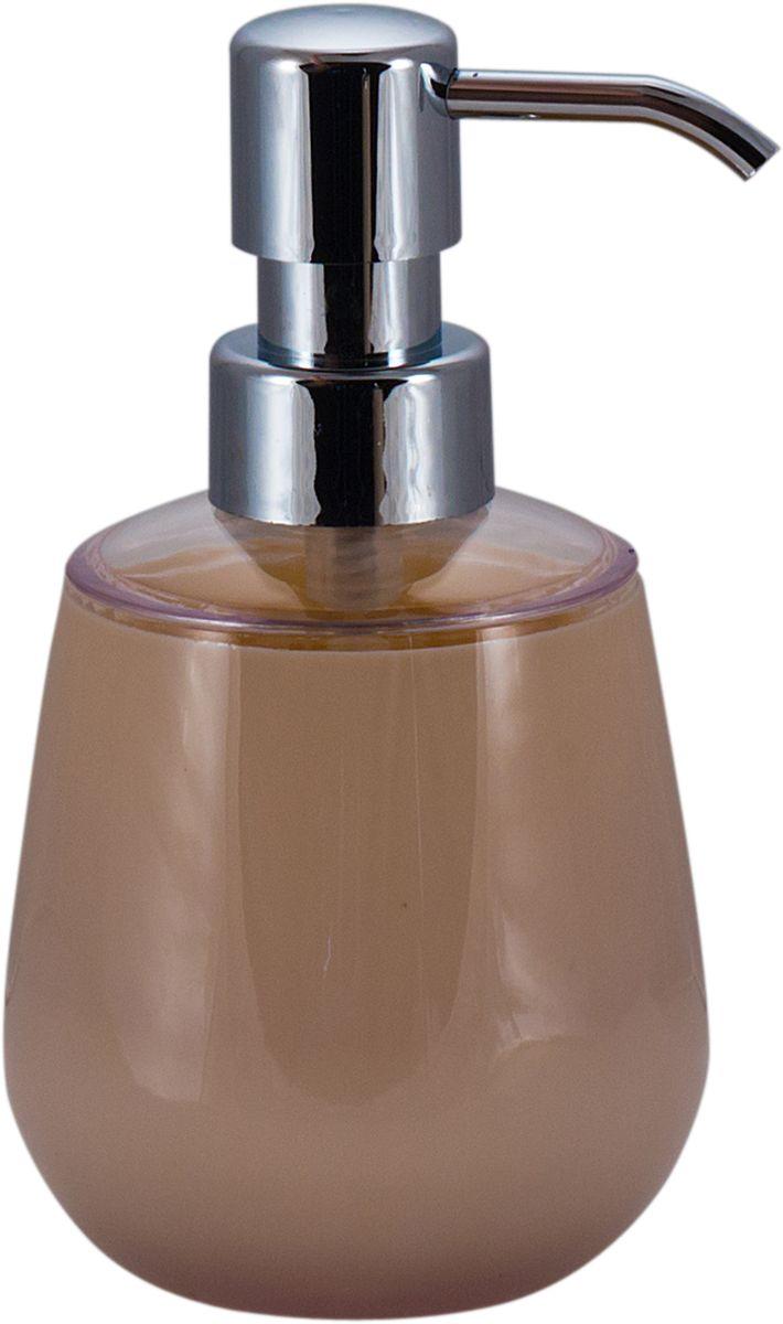 Дозатор для жидкого мыла Swensa Рондо, цвет: бежевый, 250 мл531-105Дозатор для жидкого мыла Swensa Рондо — отличная альтернатива традиционной мыльнице. Сочетание емкости из акрила и хромированного носика выглядит просто, но, в то же время, стильно. Моющее средство (мыло или гель) выдается дозированно, а значит, существенно экономится. Благодаря компактному размеру, место для диспенсера найдется даже на небольшой полочке в ванной.