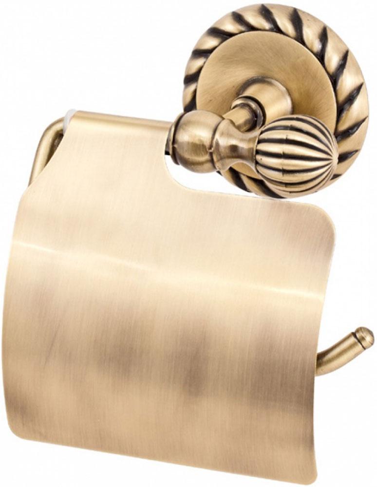 Держатель туалетной бумаги Del Mare 11800, с крышкой, цвет: античная бронза11804-1Держатель туалетной бумаги Del Mare 11800 — практичный аксессуар для санузла, выполненного в современном стиле. Этот небольшой, но важный предмет интерьера поможет создать эргономичное пространство даже в компактном помещении. Держатель прекрасно гармонирует с любой расцветкой ванной комнаты. Хромированная поверхность изделия создает зеркальный эффект, подчеркивая оформление ванной комнаты.