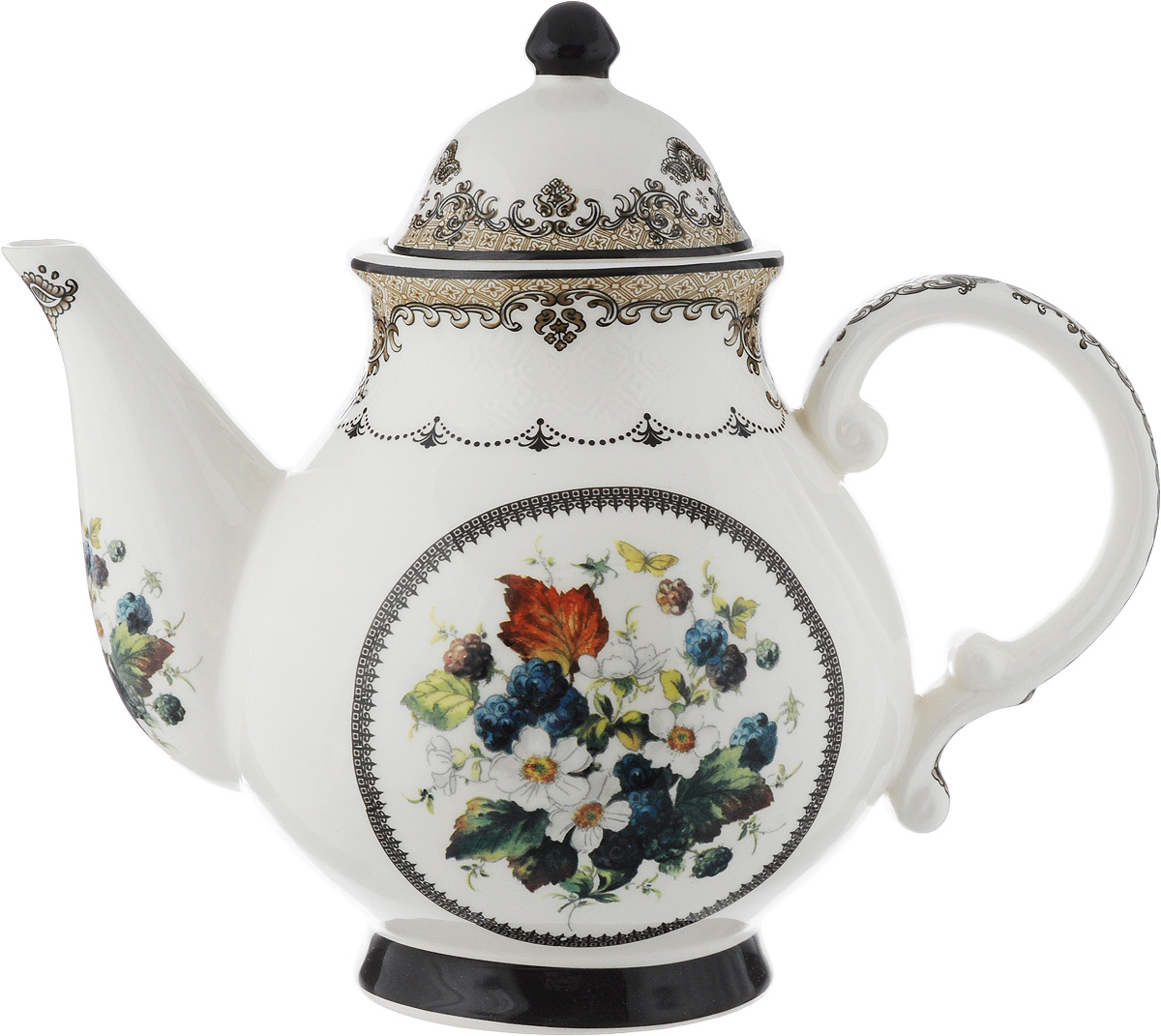 Чайник заварочный Lillo, 1,8 л54 009312Заварочный чайник Lillo, изготовленный из высококачественной керамики, прекрасно впишется в интерьер вашей кухни и станет достойным дополнением к кухонному инвентарю. Чайник, снабженный эргономичной крышкой и удобной ручкой. Чайник декорирован оригинальным рисунком.Заварочный чайник Lillo не только украсит ваш кухонный стол и подчеркнет прекрасный вкус хозяйки, но и станет отличным подарком.Высота (с учетом крышки): 22 см. Длина (с учетом носика и ручки): 26 см. Диаметр основания: 9 см. Диаметр чайника (по верхнему краю): 9,5 см.