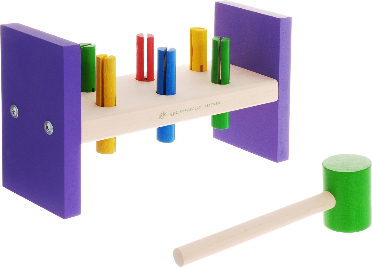 Краснокамская игрушка Игровой набор Стучалка