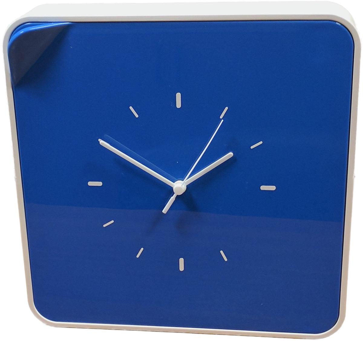 Ключница настенная Byline, с часами, цвет: синий. 108.3254.0412723Многофункциональный ящик - удобное решение для хранения любых мелочей: косметика, лаки, украшения, диски и другие мелкие аксессуары всегда будут на своем месте. Ящик легко впишется в интерьер, спальни, гостиной и даже деткой комнаты.