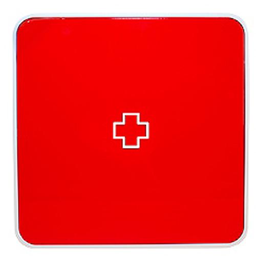 Подвесной органайзер для лекарств Byline, цвет: красный. 108.3252.55RG-D31SНастенная аптечка - изготовлена из прочного пластика высокого качества, позволяющего эксплуатировать изделие на протяжение весьма существенного периода. Уникальность аптечке придает матовая дверца яркого цвета с удобной ручкой.