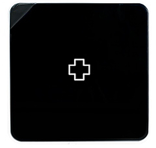 Подвесной органайзер для лекарств Byline, цвет: черный. 108.3252.5274-0060Настенная аптечка - изготовлена из прочного пластика высокого качества, позволяющего эксплуатировать изделие на протяжение весьма существенного периода. Уникальность аптечке придает матовая дверца яркого цвета с удобной ручкой.