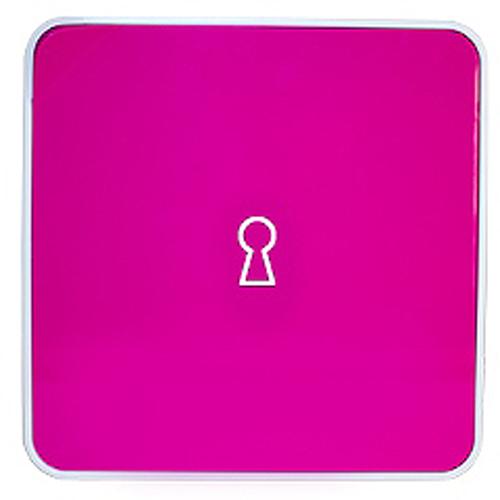 Ключница настенная Byline, цвет: розовый. 108.3251.5754 009312Настенные ключницы - созданы как удобные органайзеры для хранения и контроля за комплектами ключей. Больше не надо думать, куда положить ключи от квартиры или дома, машины, почтового ящика, кладовки.