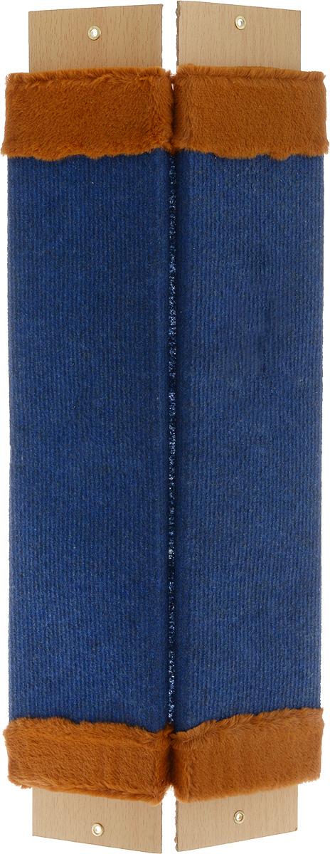 Когтеточка Adel-Pet Угловая, с пропиткой, ковровая, длина 60 см7164Когтеточка Adel-Pet Угловая поможет сохранить мебель и ковры в доме от когтей вашего любимца, стремящегося удовлетворить свою естественную потребность точить когти. Когтеточка изготовлена из ДСП, синтетики и ковролина. Товар продуман в мельчайших деталях и, несомненно, понравится вашей кошке. Всем кошкам необходимо стачивать когти. Когтеточка - один из самых необходимых аксессуаров для кошки. Для легкого приучения питомца изделиеобработано привлекающей пропиткой.Длина когтеточки: 60 см.