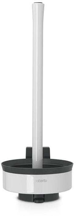 Держатель для туалетной бумаги Brabantia. 48344868/5/1Держатель для туалетной бумаги Brabantia 483462 крепится к стене с помощью прилагаемого кронштейна, благодаря чему не занимает место на полу и облегчает уборку в ванной комнате.Легко вынимается из настенного крепления для тщательной очистки стене позади держателя.Также может быть использован без кронштейна - на полу ванной комнаты.Нескользящее основание предотвращает скольжение по плитке.Простая и быстрая замена рулонов туалетной бумаги.Вмещает до трех рулонов туалетной бумаги.Держатель изготовлен из коррозионностойких материалов.Инструкция и фурнитура для монтажа в комплекте. Сочетается с другими аксессуарами Brabantia для ванной комнаты: настенным или напольным мусорными баками, туалетным ершиком, мыльницей, держателем для стаканов, полочкой для ванной комнаты, крючками и держателями для полотенца. Гарантия 10 лет.