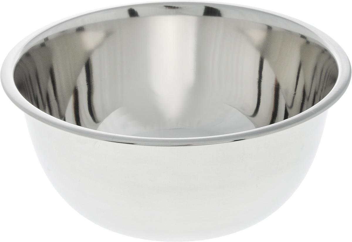 Миска SSW, диаметр 20 смFS-91909Миска SSW выполнена из высококачественной нержавеющей стали. С наружной стороны изделие имеет матовую поверхность, а с внутренней - зеркальную. Миска отлично подойдет для взбивания яиц, смешивания различных ингредиентов.Диаметр миски (по верхнему краю): 20 см.Высота стенки миски: 9,2 см.