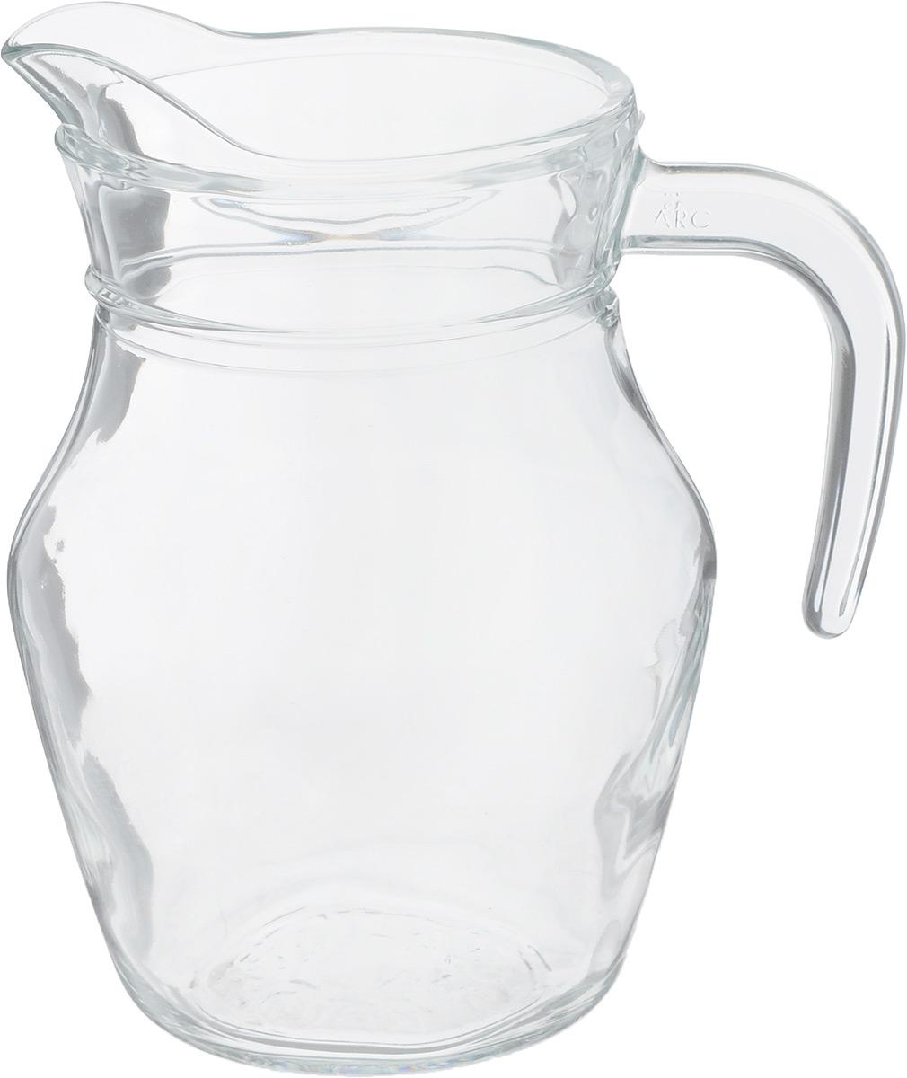 Кувшин Luminarc Arc, 500 млZM-11024Кувшин Luminarc Arc, выполненный из высококачественного стекла, оснащен удобной ручкой. В нем будет удобно хранить и подавать на стол молоко или сливки.Кувшин Luminarc Arc украсит любой кухонный интерьер и станет хорошим подарком для ваших близких. Диаметр кувшина (по верхнему краю): 8 см. Диаметр дна: 7 см. Высота кувшина: 14 см.