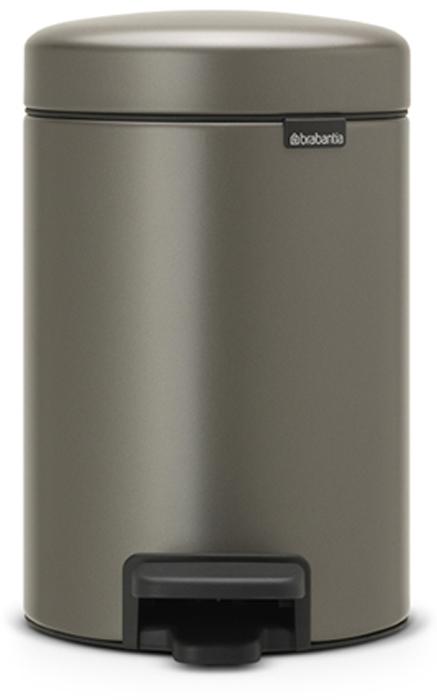 Мусорный бак с педалью Brabantia NewIcon, 3 л. 113246MB980Этот небольшой изящный бак на 3 литра гарантирует большое преображение вашего самого маленького помещения в доме!Бесшумный – плавное закрывание крышки и необыкновенно мягкий ход педали.Не пропускает запах – плотно прилегающая крышка.Устойчивый – специальное устройство, предотвращающее опрокидывание бака.Не повреждает пол – нескользящее основание.Удобная очистка –съемное внутреннее пластиковое ведро.Всегда опрятный вид – в комплекте идеально подходящиепо размеру мешки для мусора PerfectFit (размер A).Изготовлен на 40% из переработанных материалов, подлежит вторичной переработке вместе с упаковкой на 98%. 10 лет гарантии.Сертификат соответствия концепции регенерации Cradle to Cradle.Brabantia c заботой о вашем доме и планете. Добрые дела сегодня – залог счастливого завтра. Мусорные баки с педалью newIcon не только безупречно красивы, они еще и надежные работники! Покупая этот бак, вы вносите вклад в крупнейший проект по очистке мирового океана от пластикового мусора, реализуемый организацией Ocean Cleanup. При продаже каждого бака Brabantia осуществляет благотворительный вклад в проект. Разве это не здорово?