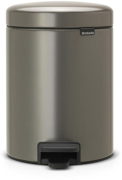 Мусорный бак с педалью Brabantia NewIcon, 5 л. 112683787502Этот 5-литровый бак с педалью идеально подходит для ванной, туалета или детской комнаты.Бесшумный – плавное закрывание крышки и необыкновенно мягкий ход педали.Не пропускает запах – плотно прилегающая крышка.Устойчивый – специальное устройство, предотвращающее опрокидывание бака.Не повреждает пол – нескользящее основание.Удобная очистка – съемное внутреннее пластиковое ведро.Всегда опрятный вид – в комплекте идеально подходящие по размеру мешки для мусора PerfectFit (размер В). Сертификат соответствия концепции регенерации Cradle to Cradle.Изготовлен на 40% из переработанных материалов, подлежит вторичной переработке вместе с упаковкойна 98%. 10 лет гарантии.Brabantia c заботой о вашем доме и планете. Добрые дела сегодня – залог счастливого завтра. Мусорные баки с педалью newIcon не только безупречно красивы, они еще и надежные работники! Покупая этот бак, вы вносите вклад в крупнейший проект по очистке мирового океана от пластикового мусора, реализуемый организацией Ocean Cleanup. При продаже каждого бака Brabantia осуществляет благотворительный вклад в проект. Разве это не здорово?