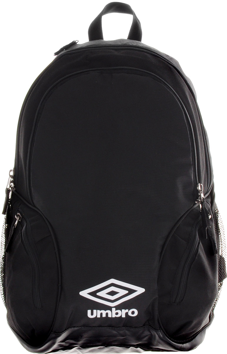 Рюкзак спортивный Umbro Team Premium Backpack, цвет: черный, белый. Размер L. 750115750115
