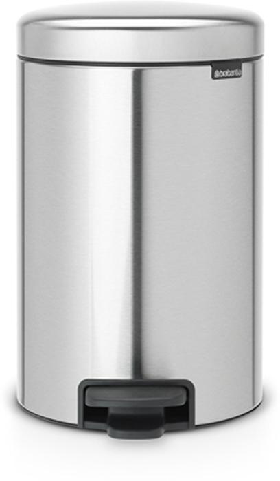 Мусорный бак с педалью Brabantia NewIcon, 12 л. 112041787502Этот 12-литровый бак с педалью достаточно вместителен и при этом достаточно компактен для размещения под рабочим столом – отличное решение для кухни или гостиной. Бесшумный – плавное закрывание крышки и необыкновенно мягкий ход педали.Не пропускает запах – плотно прилегающая крышка.Устойчивый – специальное устройство, предотвращающее опрокидывание бака.Не повреждает пол – нескользящее основание.Удобная очистка –съемное внутреннее пластиковое ведро.Бак удобно перемещать – специальная ручка в блоке крепления крышки.Всегда опрятный вид – в комплекте идеально подходящие по размеру мешки для мусора PerfectFit (размер C). Сертификат соответствия концепции регенерации Cradle to Cradle.Изготовлен на 40% из переработанных материалов, подлежит вторичной переработке вместе с упаковкойна 98%. 10 лет гарантии.Brabantia c заботой о вашем доме и планете. Добрые дела сегодня – залог счастливого завтра. Мусорные баки с педалью newIcon не только безупречно красивы, они еще и надежные работники! Покупая этот бак, вы вносите вклад в крупнейший проект по очистке мирового океана от пластикового мусора, реализуемый организацией Ocean Cleanup. При продаже каждого бака Brabantia осуществляет благотворительный вклад в проект. Разве это не здорово?