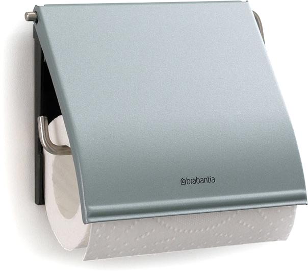 Держатель для туалетной бумаги Brabantia. 107924CLP446Держатель для туалетной бумаги изготовлен из высококачественной листовой стали со стойким антикоррозийным покрытием или хромированной стали, поэтому он идеально подходит для использования в ванной и туалете.Держатель просто монтировать и легко менять рулон.Фурнитура для монтажа входит в комплект.Пластина крепления - пластиковая.Легко сменить рулон. Рулон можно вставить справа или слева.Сочетается с другими аксессуарами Brabantia для ванной комнаты такого же цвета: с туалетным ершиком, баком для белья, настенным мусорным ведром и мусорным ведром с ножной педалью. Гарантия 10 лет.