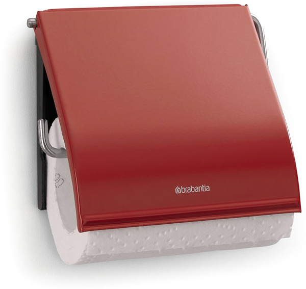 Держатель для туалетной бумаги Brabantia. 107863RG-D31SДержатель для туалетной бумаги изготовлен из высококачественной листовой стали со стойким антикоррозийным покрытием или хромированной стали, поэтому он идеально подходит для использования в ванной и туалете.Держатель просто монтировать и легко менять рулон.Фурнитура для монтажа входит в комплект.Пластина крепления - пластиковая.Легко сменить рулон. Рулон можно вставить справа или слева.Сочетается с другими аксессуарами Brabantia для ванной комнаты такого же цвета: с туалетным ершиком, баком для белья, настенным мусорным ведром и мусорным ведром с ножной педалью. Гарантия 10 лет.
