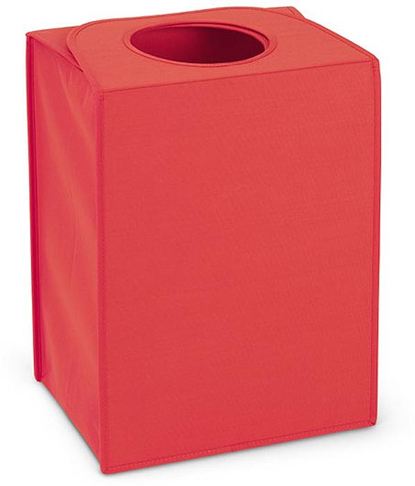 Сумка для белья Brabantia, прямоугольная. 104220391602Яркая стильная сумка для белья Brabantia выглядит очень компактной, при том что ее объем составляет 55 литров!Благодаря широкому отверстию легче складывать и вынимать белье.Большие ручки-заслонки на магнитном замке не дадут белью выпасть из сумки. •Гарантия 2 года.