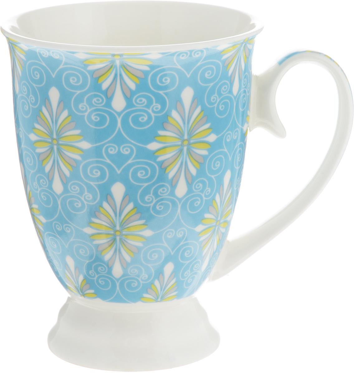 Кружка Lillo Цветочно-ягодный микс, цвет: голубой, 250 мл54 009312Кружка Lillo Цветочно-ягодный микс выполнена из высококачественной керамики с глазурованным покрытием. С внешней стороны изделие декорировано красочным рисунком. Такая кружка станет приятным подарком и согреет вас холодными вечерами. Диаметр (по верхнему краю): 8 см.Высота кружки: 10,5 см.