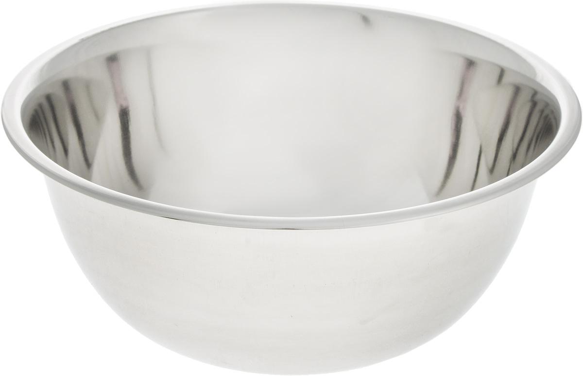 Миска SSW, диаметр 16 см115510Миска SSW выполнена из высококачественной нержавеющей стали. С наружной стороны изделие имеет матовую поверхность, а с внутренней - зеркальную. Миска отлично подойдет для взбивания яиц, смешивания различных ингредиентов.