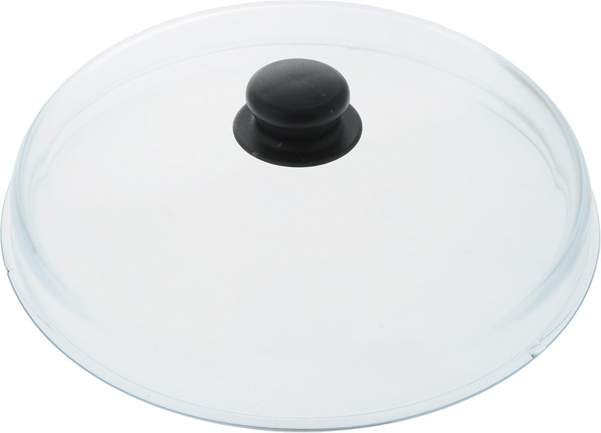 """Крышка стеклянная """"VGP"""", высокая. Диаметр 28 см"""