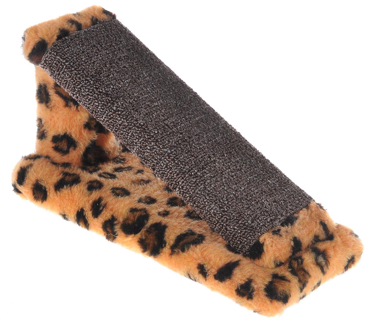 Когтеточка для котят Меридиан Горка, цвет: коричневый, темно-коричневый, черный, 29 х 14 х 14 см0120710Когтеточка Меридиан Горка предназначена для стачивания когтей вашего котенка и предотвращения их врастания. Она выполнена из ДВП, ДСП и искусственного меха. Точатся когти о накладку из ковролина. Когтеточка позволяет сохранить неповрежденными мебель и другие предметы интерьера.