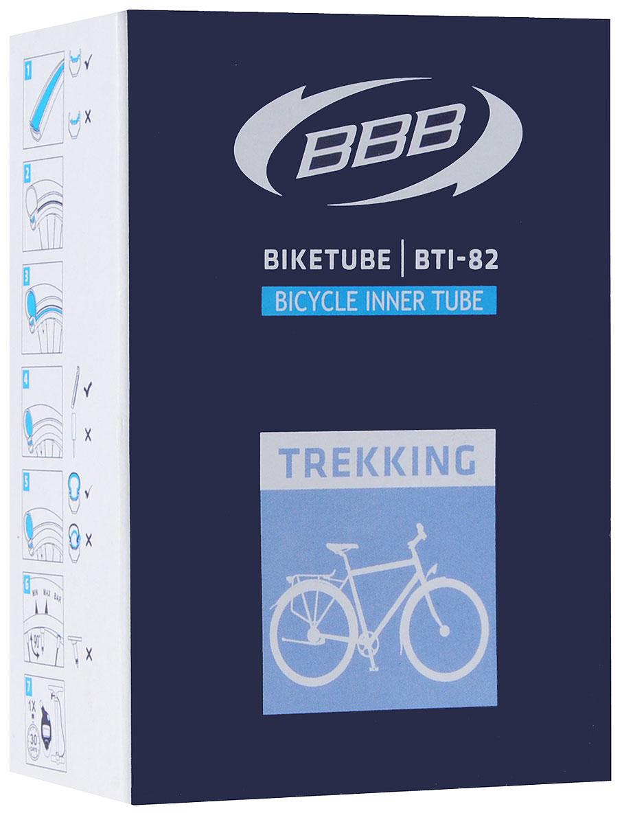 Камера велосипедная BBB, 28, 35-43C AV5-10301066-111Камера BBB изготовлена из долговечного резинового компаунда. Никаких швов, которые могут пропускать воздух. Достаточно большая для защиты от проколов и достаточно небольшая для снижения веса. Велосипедные камеры - обязательный атрибут каждого велосипедиста! Никогда не выезжайте из дома на велосипеде, не взяв с собой запасную велосипедную шину!Диаметр колеса: 28.Ниппель AV: 40 ммТолщина стенки: 0,87 мм.