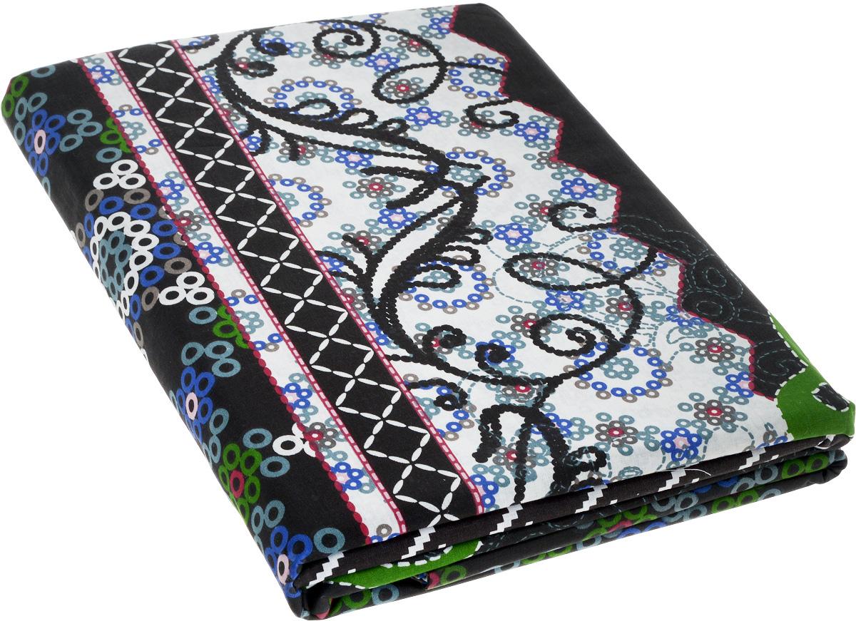Комплект белья МарТекс Folka, 1,5-спальный, наволочки 70х7010503Комплект постельного белья МарТекс Folka состоит из пододеяльника, простыни и двух наволочек. Постельное белье оформлено оригинальным ярким рисунком и имеет изысканный внешний вид.Комплект изготовлен из натурального поплина на базе хлопка. Материал обладает всеми свойствами хлопка (не вызывает аллергию, хорошо пропускает воздух, легко стирается и гладится, прочен, выдерживает много стирок и т.д.), плюс он очень долговечен, износоустойчив, но при этом очень мягкий.
