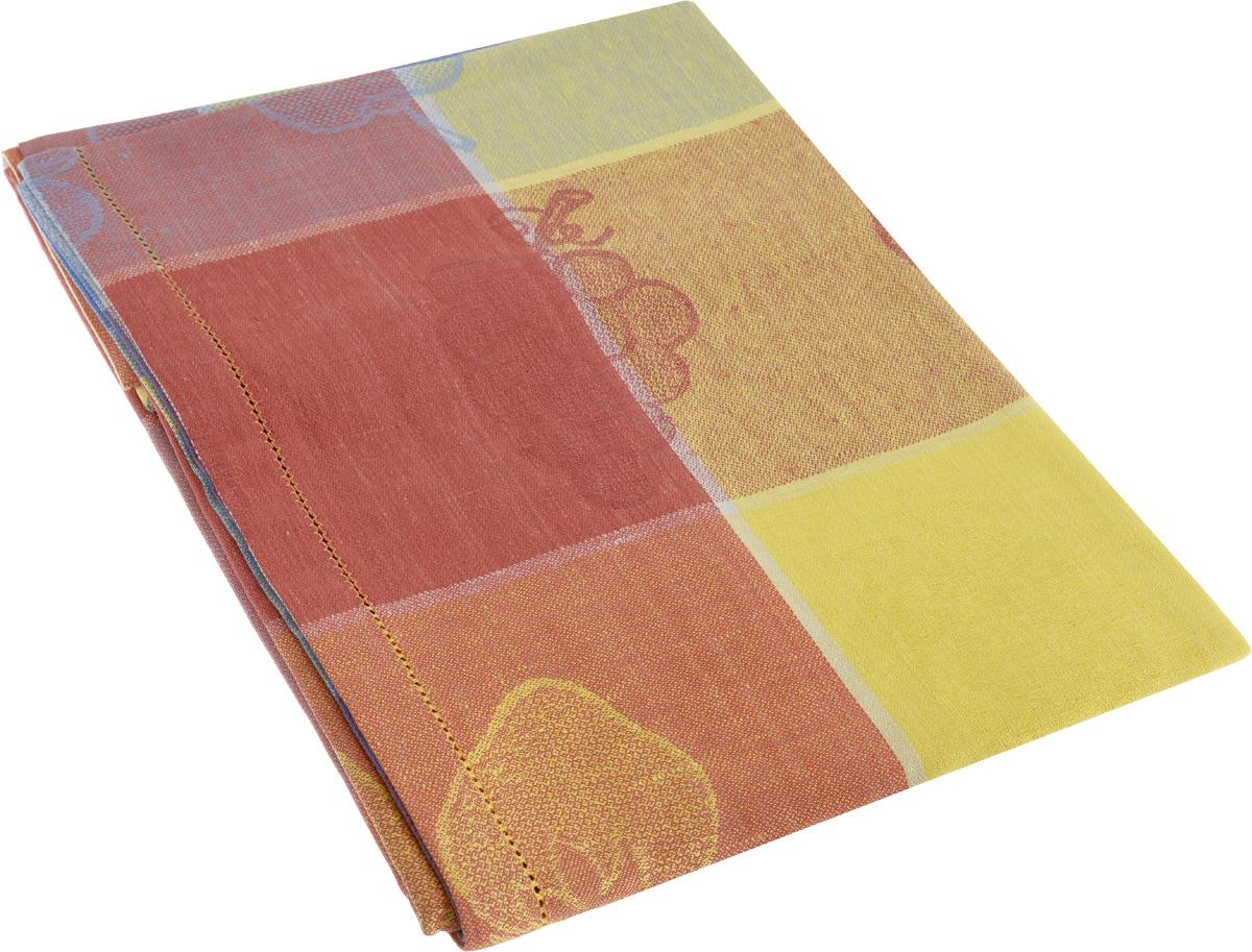 Скатерть Гаврилов-Ямский Лен Фрукты, прямоугольная, цвет: мультиколор, 140 x 180 см1со6100-2_рисунок фруктыРоскошная скатерть Гаврилов-Ямский Лен Фрукты выполнена из качественного сочетания льна и хлопка. Данное изделие является незаменимым аксессуаром для сервировки стола.Лен - поистине уникальный природный материал, который отличается высокой экологичностью. Изделия изо льна обладают уникальными потребительскими свойствами. Скатерти из натурального льна придадут вашему дому уют и тепло натурального материала. История льна восходит к Древнему Египту: в те времена одежда изо льна считалась достойной фараонов! На Руси лен возделывали с незапамятных времен - изделия из льняной ткани считались показателем достатка, а льняная одежда служила символом невинности и нравственной чистоты.