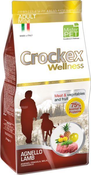 Корм сухой Crockex Wellness для собак мелких пород, с ягненком и рисом, 2 кг0120710Этот полноценный рацион, дополненный функциональными ингредиентами, поддержит здоровье собаки. Сердцевина ананаса и яблоко способствуют правильному функционированию пищеварительной системы, а клубника является натуральным антиоксидантом с антивозрастным эффектом и служит для борьбы со свободными радикалами. Одуванчик известен своими очищающими свойствами и оказывает благотворное воздействие на печень. Пребиотики FOS и MOS помогают модулировать кишечную флору, улучшая таким образом усвоение питательных веществ. Использование риса в качестве первого источника углеводов и свежего мяса ягненка (15%) обеспечивает высокую перевариваемость и отличную аппетитность рациона.Состав: обезвоженное мясо цыпленка (19%), рис (18%), кукуруза, свежее мясо ягненка (15%), кукурузная мука, цыплячий жир, очищенный от оболочки зеленый горошек, льняное семя (2%), высушенная мякоть свеклы, пивные дрожжи, обезвоженные морские водоросли (0,24%), хлорид натрия, экстракт дрожжей (MOS 0,16%), фруктоолигосахариды (FOS 0,1%), экстракт юкки (0,0265%), порошок из корней одуванчика (Taraxacum officinale W.) (0,02%), обезвоженное яблоко (Malus pumila) (0,02%), обезвоженная сердцевина ананаса (Ananas sativus L.) (0,02%), обезвоженная клубника (Fragaria x ananassa) (0,0006%).Добавки на 1 кг продукта - Пищевые добавки: Витамин A 17500 МЕ, Витамин D3 1200 МЕ, Витамин E 145 мг, E4 Сульфат меди пентагидрат47 мг, E1 Карбонат железа 76 мг, E5 Оксидмарганца 92 мг, E6 Сульфат цинка моногидрат 192мг, E2 Йодистый калий 4,6 мг, E8 Селенит натрия15,2 мг.Аналитический состав: влага 8%, сырой протеин26%, сырые масла и жиры 16%, сырая зола 6,3%,сырые волокна 2,1%, кальций 1,25%, фосфор 0,9%.Товар сертифицирован.
