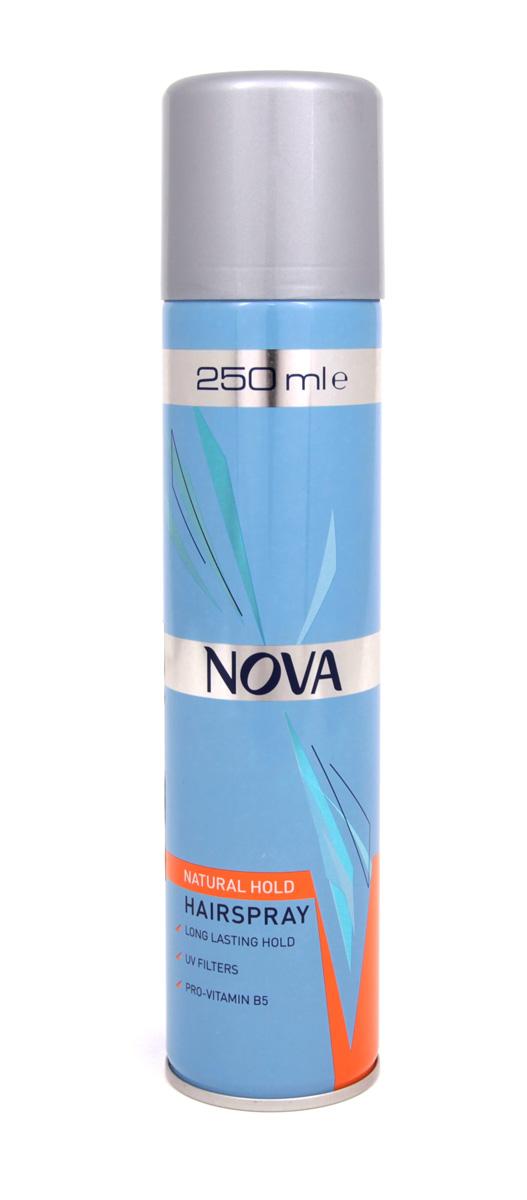 Лак для волос Nova супер фиксации 250 мл (оранжевый)1209010500AСовременные компоненты,входящие в состав лака с провитомином B5,обеспечивают хорошую фиксацию и блеск без видимых следов утяжеления и склеивания волос.Лак фиксирует самые сложные формы и одновременно способствует восстановлению и укреплению поврежденной структуры волос.Питательные добавки придают волосам роскошный,шелковый блеск.