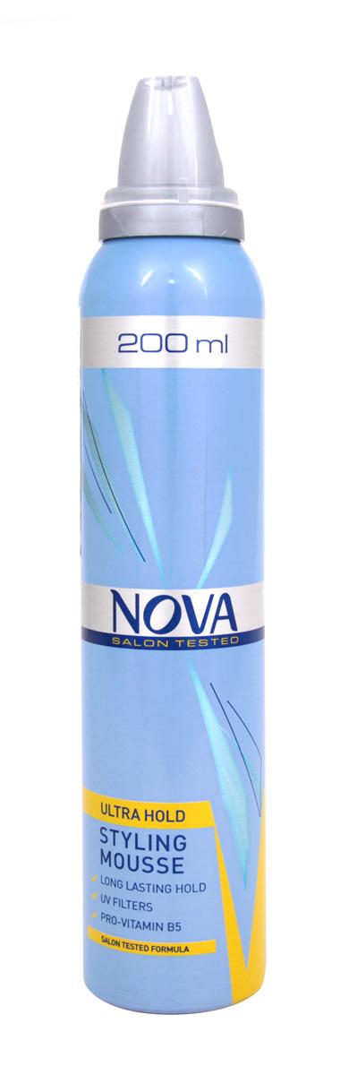 Мусс сверхсильной фиксации Nova 200 мл (желтый)WF-81470058Мусс обеспечивает сохранение формы прически на длительное время. Новая формула с провитаминами B5 и питательными компонентами обеспечивает легкое расчесывание при укладке, а UV-фильтры защищают волосы от дополнительных повреждений.