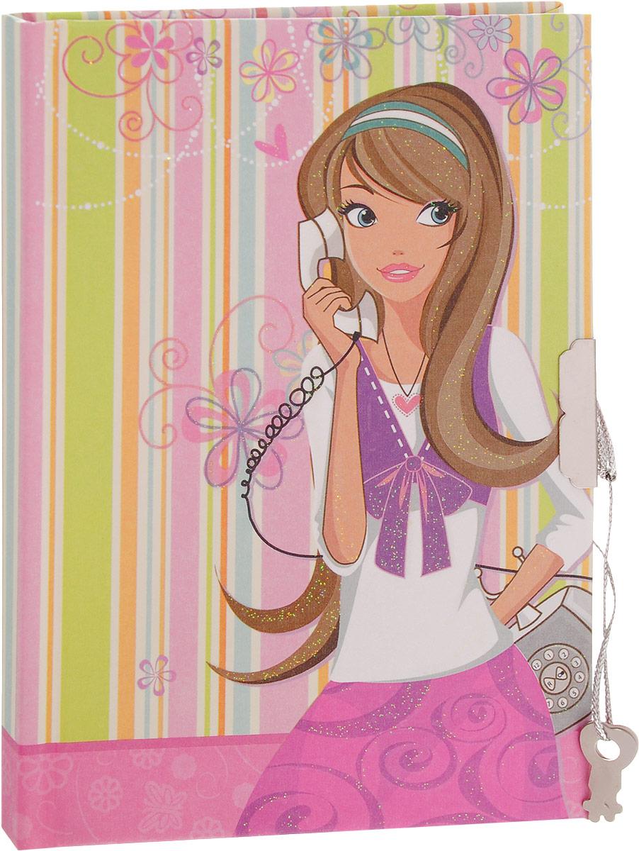 Brauberg Блокнот С телефоном 60 листов в линейку 123548M-1550640N-3Компактный блокнот Brauberg С телефоном без труда поместится даже в карман и всегда будет под рукой. Блокнот в линейку идеально подойдет для записей и пометок, а также для ведения личного дневника. Обложка закрывается на ключ и надежно сохранит все ваши секреты и личные записи от посторонних глаз. Ароматизированный внутренний блок, представленный 60 листами, сделает использование такого блокнота еще более приятным.