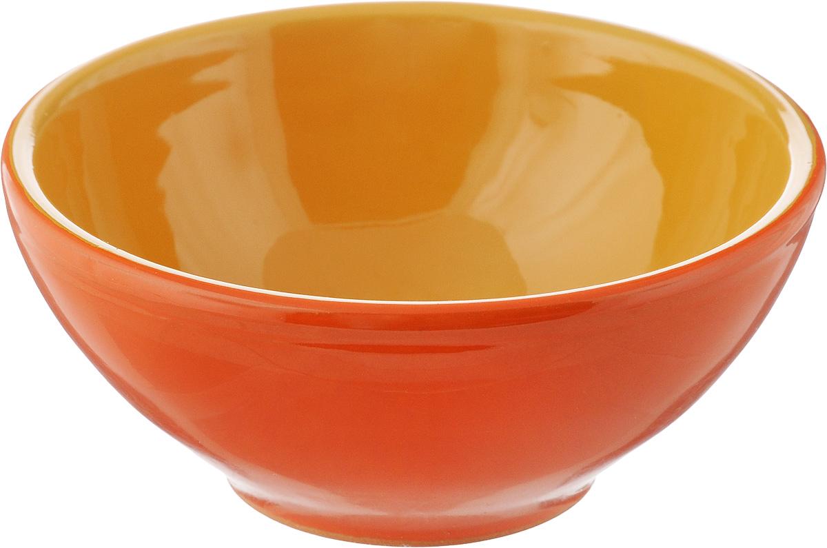 Розетка для варенья Борисовская керамика Радуга, цвет: оранжевый, желтый, 200 мл115510Розетка для варенья Борисовская керамика Радуга изготовлена из высококачественной керамики. Изделие отлично подойдет для подачи на стол меда, варенья, соуса, сметаны и многого другого.Такая розетка украсит ваш праздничный или обеденный стол, а яркое оформление понравится любой хозяйке. Можно использовать в духовке и микроволновой печи. Диаметр (по верхнему краю): 10 см.Высота: 4,5 см.Объем: 200 мл.