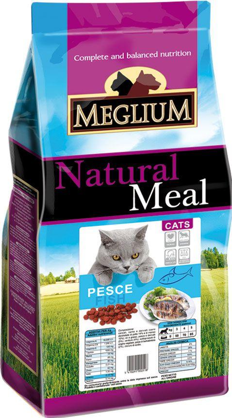 Корм сухой Meglium для кошек, рыба, 3 кг64783Сбалансированный корм с оптимальным соотношением белков и углеводов специально разработан для кошек с чувствительным пищеварением. Содержит жизненноважные витамины и минералы.