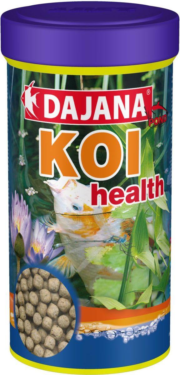 Корм для прудовых рыб Dajana Koi Health, 1 л (410 г)DP012BЯвляется комплексным кормом для карповых и холодноводных рыб в виде плавающих шариков. В своем составе содержит природные иммуномодуляторы бета-глюканы повышают иммунитет рыб по отношению ко всем вирусам, бактериям или грибкам и внутренним паразитам.Содержит также большое количество важных витаминов, микроэлементов и минеральных веществ, благотворно влияющих на физическую форму рыб, тем самым, способствуя их психическому равновесию.