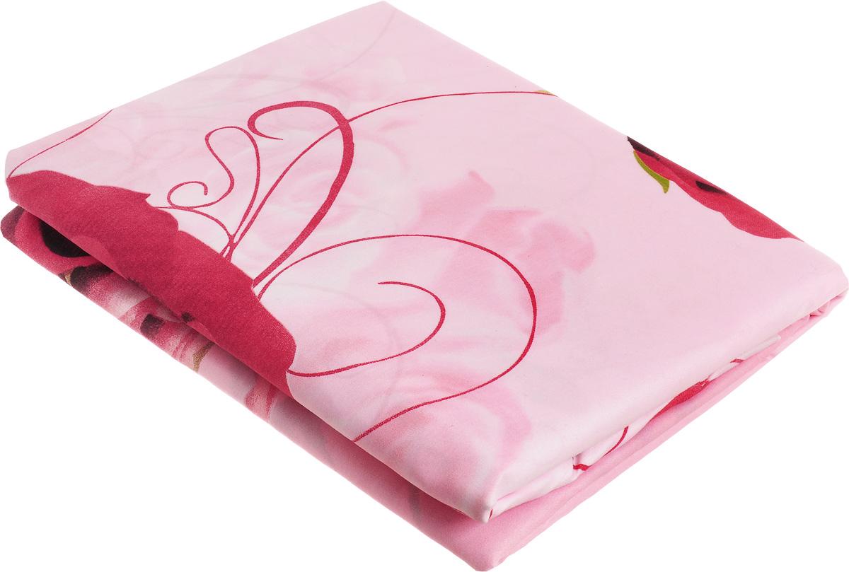 Комплект белья МарТекс Ида, 1,5-спальный, наволочки 70х70, цвет: розовый01-1284-1Комплект постельного белья МарТекс Ида состоит из пододеяльника, простыни и двух наволочек и изготовлен из качественной микрофибры. Постельное белье оформлено оригинальным ярким 5D рисунком и имеет изысканный внешний вид. Ткань микрофибра - новая технология в производстве постельного белья. Тонкие волокна, используемые в ткани, производят путем переработки полиамида и полиэстера. Такая нить не впитывает влагу, как хлопок, а пропускает ее через себя, и влага быстро испаряется. Изделие не деформируется и хорошо держит форму.Приобретая комплект постельного белья МарТекс, вы можете быть уверенны в том, что покупка доставит вам и вашим близким удовольствие и подарит максимальный комфорт.