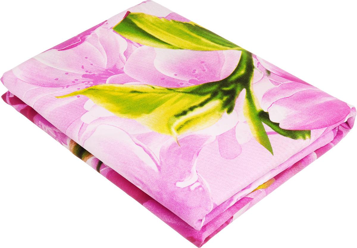 Комплект белья МарТекс Юлиана, 2-спальный, наволочки 70х70, цвет: розовый552109/44Комплект постельного белья МарТекс Юлиана состоит из пододеяльника, простыни и двух наволочек и изготовлен из качественной микрофибры. Постельное белье оформлено оригинальным ярким 5D рисунком и имеет изысканный внешний вид. Ткань микрофибра - новая технология в производстве постельного белья. Тонкие волокна, используемые в ткани, производят путем переработки полиамида и полиэстера. Такая нить не впитывает влагу, как хлопок, а пропускает ее через себя, и влага быстро испаряется. Изделие не деформируется и хорошо держит форму.Приобретая комплект постельного белья МарТекс, вы можете быть уверенны в том, что покупка доставит вам и вашим близким удовольствие и подарит максимальный комфорт.