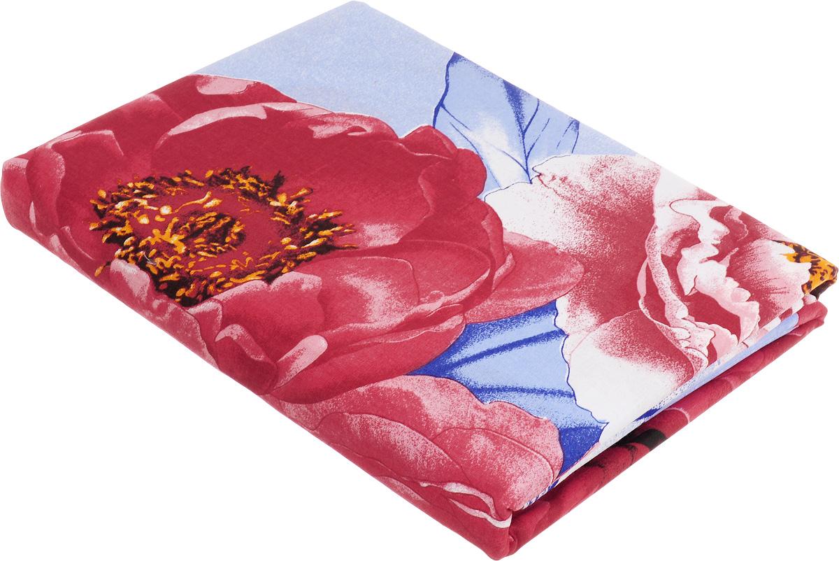 Комплект белья МарТекс Поэтическое свидание, евро, наволочки 50х70, 70х70, цвет: голубой, красный, синий01-1268-1Комплект МарТекс Поэтическое свидание состоит из пододеяльника, простыни и четырех наволочек. Постельное белье, выполненное из бязи (100% хлопка), оформлено ярким рисунком с эффектом 3D и имеет изысканный внешний вид. Бязь - хлопчатобумажная ткань полотняного переплетения без искусственных добавок. Большое количество нитей делает эту ткань более плотной, более долговечной. Высокая плотность ткани позволяет сохранить форму изделия, его первоначальные размеры и первозданный рисунок.Приобретая комплект постельного белья МарТекс Поэтическое свидание, вы можете быть уверенны в том, что покупка доставит вам и вашим близким удовольствие и подарит максимальный комфорт.